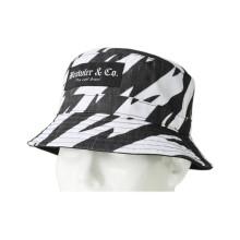 Guter Qualitäts-Baumwoll-Eimer-Hut mit Muster gedruckt (U0025)