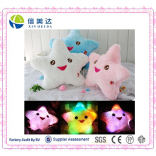 Estrela LED Luz Pillow Star Luminous Pillow Light