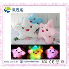 Stern-LED-helles Kissen-Stern-leuchtendes Kissen-Licht