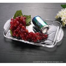Venda quente Preço Razoável Cristal De Vidro Fruteira