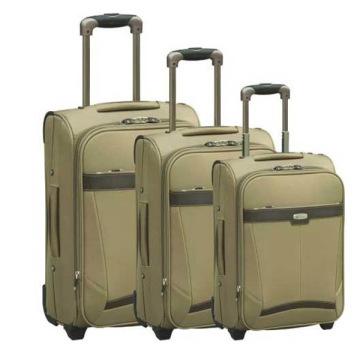 Дешевые 2 колеса салон багажа вагонетки Ева