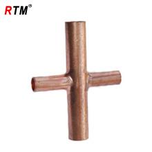reduciendo los fabricantes de accesorios de cobre cruzados