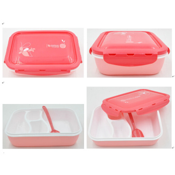 large food storage box, plastic food storage box, lunch box