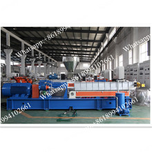 Water ring plastic granulation line
