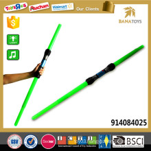 108cm Long cheap telescopic blue green light sword