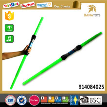 108cm Espada azul telescópica barato barato da luz verde