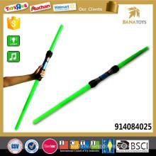 108см длинный дешевый телескопический синий зеленый свет меч