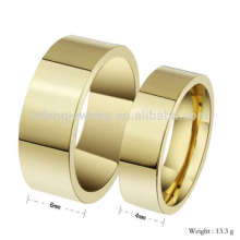 Diseño de anillo de amor de pareja prometedor, diseños de anillo de oro para pareja