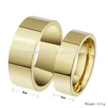 Couple prometteur amour conception d'anneau, conceptions d'anneau d'or pour couple