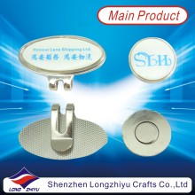 Metal Golf Clip with Magnet Ball Maker (LZY-2013000011)