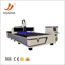 máquina de corte por láser de fibra de hoja de metal