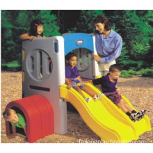 Children Plastic Slides Play Equipment