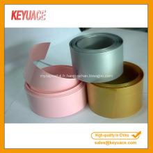 Tube coloré de rétrécissement de la chaleur de PVC pour la batterie