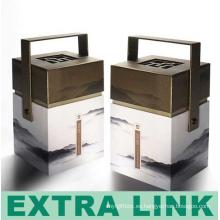 Embalaje reciclable de la caja de papel del té de Guyabano del diseño personalizado