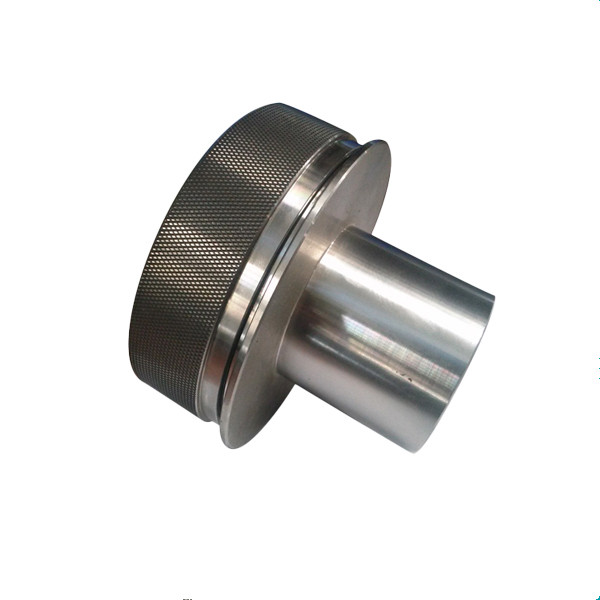 Cnc Lathe Parts Knurled Nuts Machined Communication 4