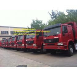 10 Wheels Tipper Dump Truck High Loading Capacity
