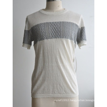 Summer Popular Short Sleeve Man Knitwear
