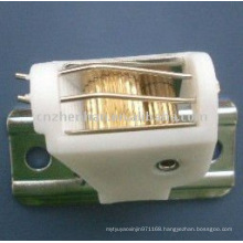 bamboo blind component-White color POM cord lock to bamboo blinds,woven wood blinds components,roman shade accessories