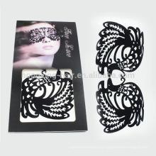 Последний дизайн татуировки тела, лицо наклейка Хэллоуин для вечеринки