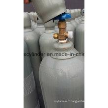99,999% gaz d'hélium rempli dans le cylindre 40L, pression de remplissage: 150bar, pression statique: 135 + _5bar