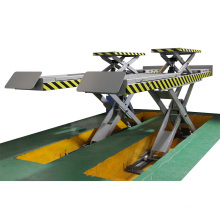 TFAUTENF TF-ULS3500 in-ground scissor lift for car lifting & wheel alignment