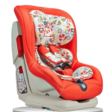 Baby car seats with orange red cover