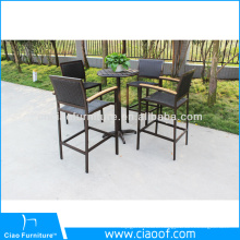 China Factory Aluminum Outdoor Bar Furniture
