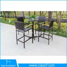 Mobília exterior de alumínio da barra da fábrica de China