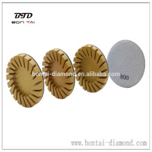 Resin bond concrete polishing pad for Klindex grinding machine