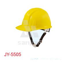 Casco de seguridad industrial de la construcción del PPE del ABS Jy-5505yellow