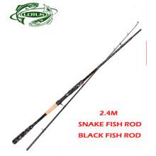 Over Hard Snake Fish Rod Black Fish Rod Lure Rod