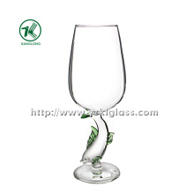 Single Wall Wine Glass by SGS (DIA8*22)