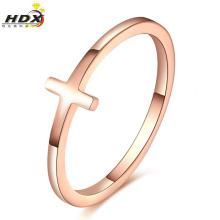 Bijoux en acier inoxydable Lady Fashion Ring