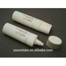 Récipients cosmétiques vides de tube ovale PE