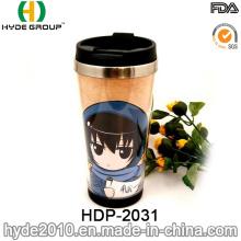 16oz Double Wall Pretty Stainless Steel Coffee Mug (HDP-2031)