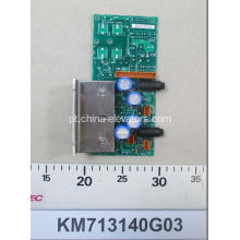 KONE Elevador LCEREC Power Board KM713140G03