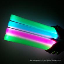 оптовые светодиодные пены палку мигать 40см
