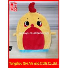 Оптом цыпленок shaped плюшевые рюкзак дети зоопарк животных рюкзак школьный пользовательские мультфильм дети рюкзак милые дети рюкзак