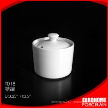 Chaozhou usine Chine gros stock porcelaine céramique sucrier