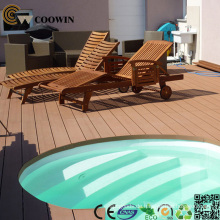 WPC Terrassendielen für Schwimmbäder über dem Boden