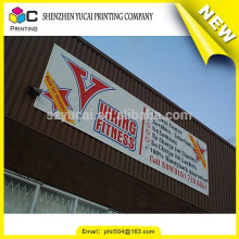 Proveedor de China personalizado de una manera visión vinilo bandera de impresión y publicidad de pvc vinilo banner