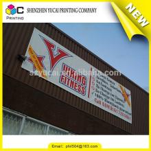 Dernier nouveau modèle de publicité en PVC publicitaire publicitaire sur mesure et bannière en couleurs