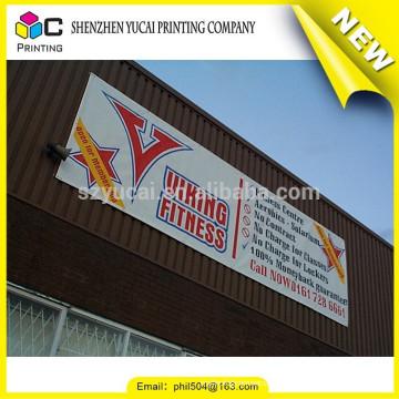 Neueste neue Modell Wasserdichte Digitaldruck Frontlit Banner