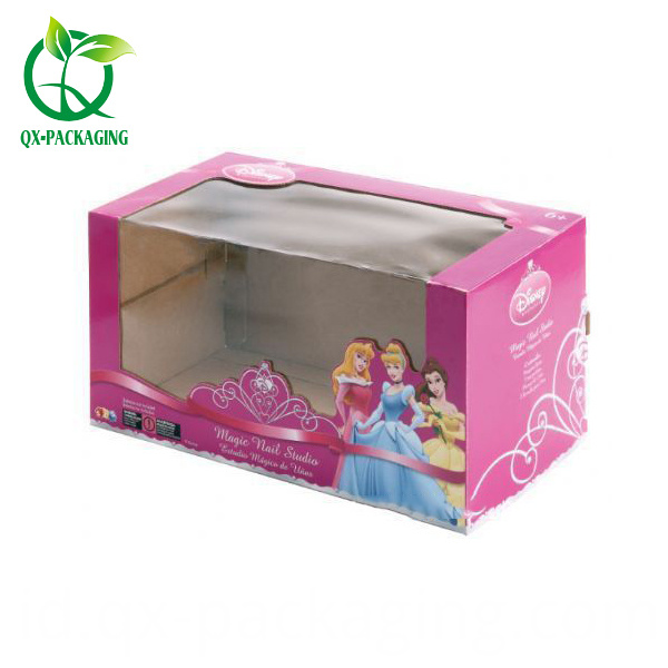 Toy Box Packaging With Pvc Window