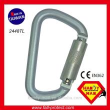 2448TL CE EN362 Stahl Sicherheit Karabiner