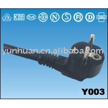 Vends Ac alimentation câble assemblé, faisceau de câblage électrique du Cpl, harnais de câble