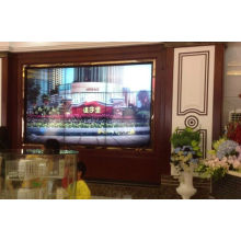 Borda sem costura estreita de 5,3 mm em 3X3 55 polegadas para parede de vídeo LCD Samsung