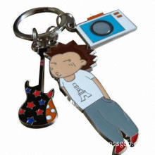 Fancy Metal Keychain, Customized Designs Accepted