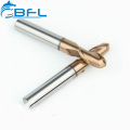 BFL Solid Carbide Ball Nose Milling Cutter Coating, Carbide CNC Ball Nose End Mill