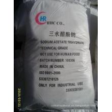 Acetato de sodio/ácido acético/sodio sal/trihidrato/anhidro